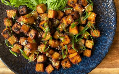Bangin' marinated tofu